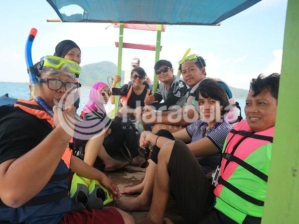 Open Trip Pulau Pahawang 140417 #05