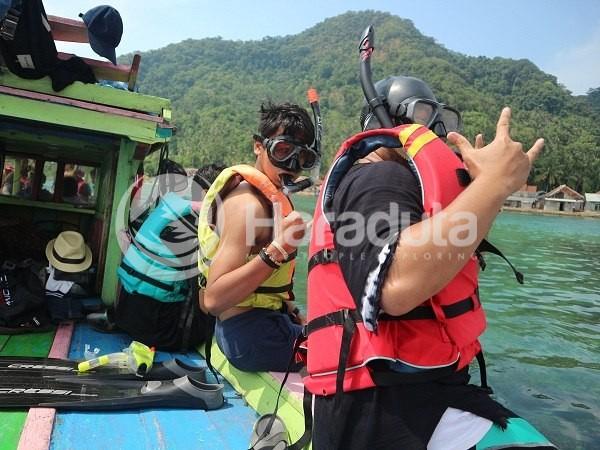 Open Trip Pulau Pahawang 140417 #09