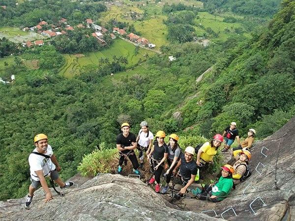 Open Trip Via Ferrata Gunung Parang Purwakarta