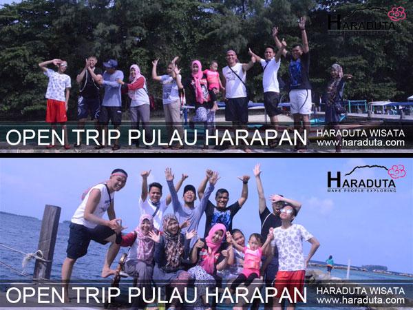 OPEN TRIP PULAU HARAPAN 12 - 13 MARET 2016