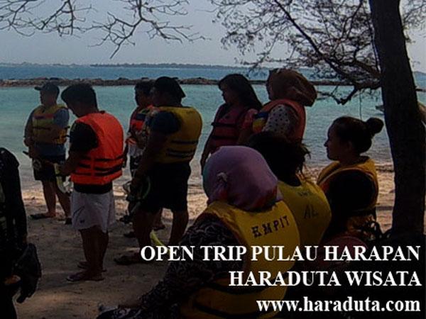 OPEN TRIP PULAU HARAPAN 9 - 10 APRIL 2016